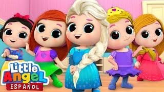 *Mejores Canciones de Princesas* 👸 | Canciones Infantiles | Little Angel Español