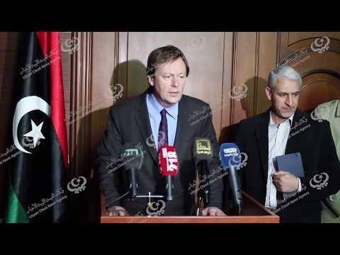 السفير الجديد للمملكة المتحدة يزور طرابلس للمرة الثانية بعد تسميته