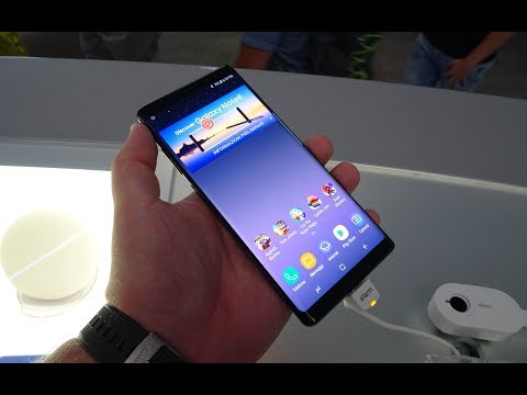 Samsung Galaxy Note8, Video Anteprima