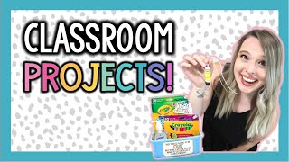 CLASSROOM PROJECTS AND GIFT IDEAS!   WEEK IN MY TEACHER LIFE!