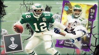 Watch Randall Cunningham Break Madden 20!