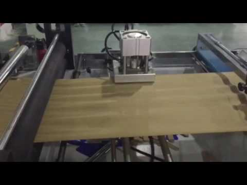 D Cut Bag Making Machine