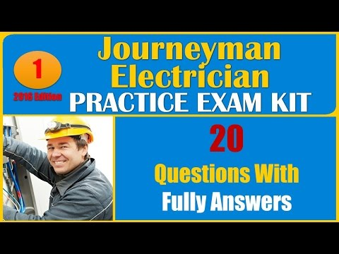 Journeyman Electrician Practice Test (20 Questions With Fully ...