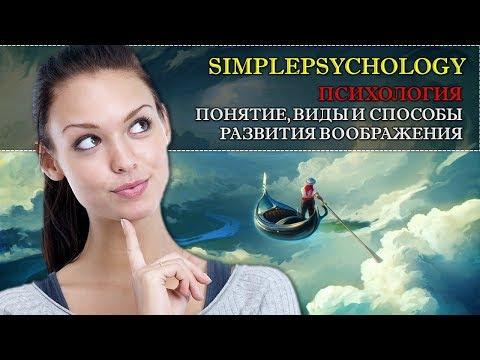 Психология. Понятие виды и способы развития воображения.