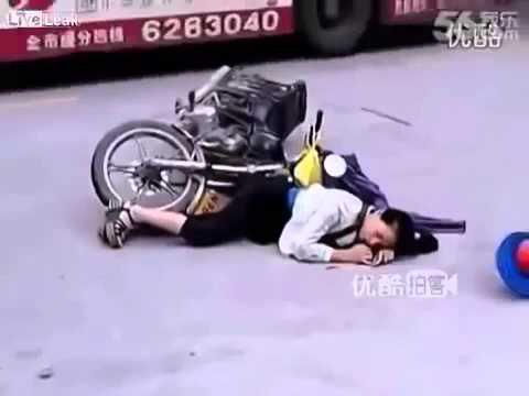 Sự vô cảm đến đáng sợ của dân Trung Quốc