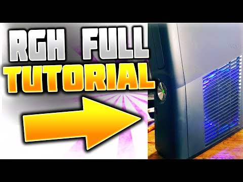 2018 Complete Guide to RGH not JTAG your fat PHAT Xbox 360 for mod