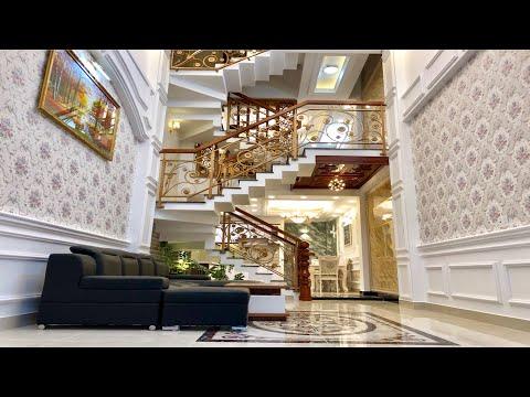 Bán nhà Gò Vấp( 61 ) Nhà bán đẹp tuyệt vời tặng kèm nội thất   Nhà Đất Huy Hùng   Có giá cực rẻ