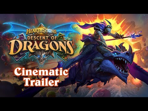 Descent of Dragons Cinematic Trailer | Hearthstone thumbnail