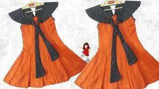 Diy New Design Frock For Baby Girl // By Simple Cutting