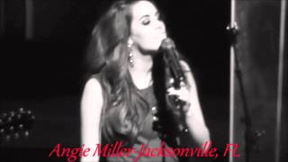 Angie Miller  This Christmas Song Live In Jacksonville Florida