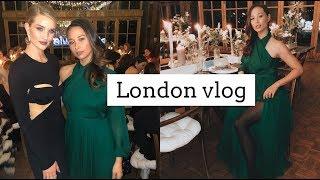 London With Rosie Huntington Whiteley & The Biebers   Aja Dang