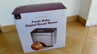 Unboxing Andrew James Digital Bread Maker