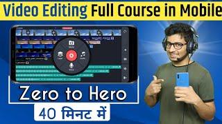 How To Edit Youtube Videos On Phone | Kinemaster Tutorial | Best Video Editing App
