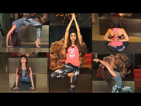 Shilpa Shetty wows with complex yoga poses ahead of International Yoga Day