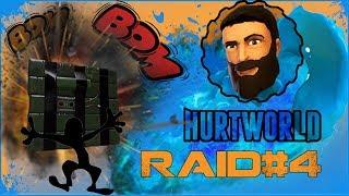 Hurtworld   Рейды#4 Рейдим дом клана, под ноль