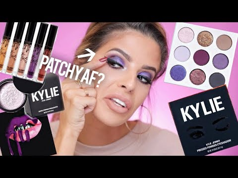 KYLIE COSMETICS PURPLE PALETTE & ENTIRE FALL COLLECTION | HITS & SOME MISSES