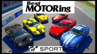 GT Sport - BEST MOTORING 3rd Tribute