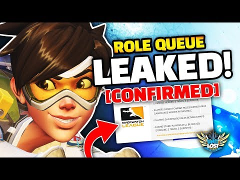 Overwatch Role Queue and Role Lock LEAKED! [CONFIRMED!]