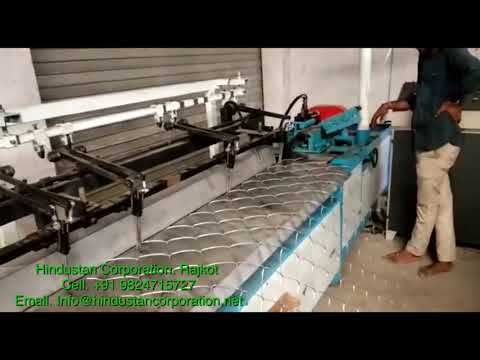 Manual Chain Link Fencing Machine