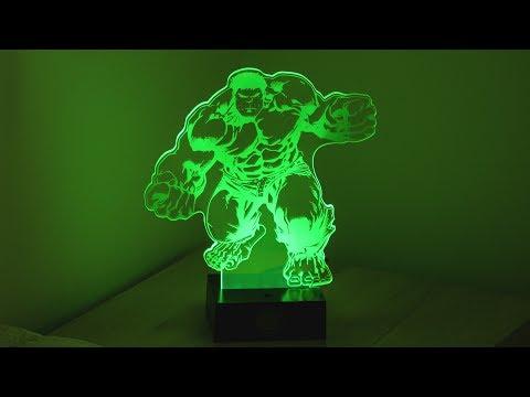 Lampka Marvel The Avengers - Hulk