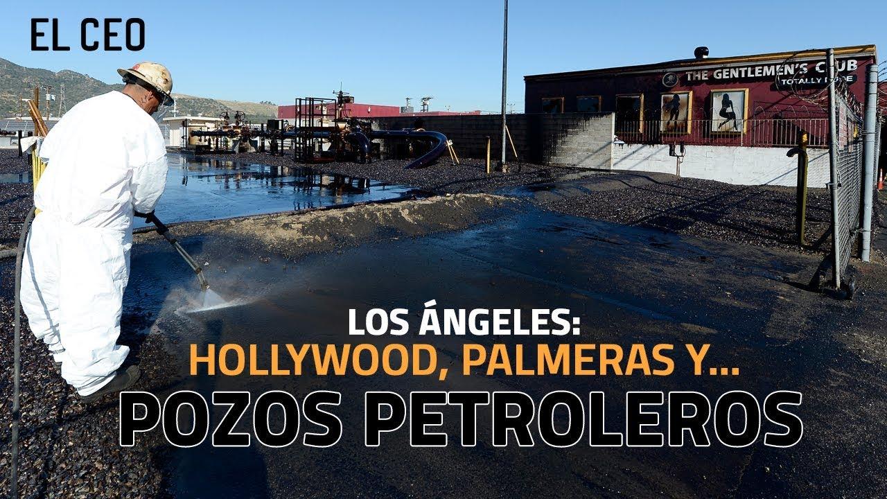 L.A.: palmeras, Hollywood y... ¿pozos petroleros?