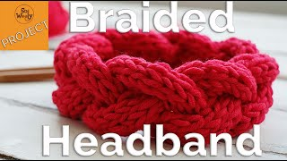How to knit a Braided Headband for beginners, step by step - So Woolly