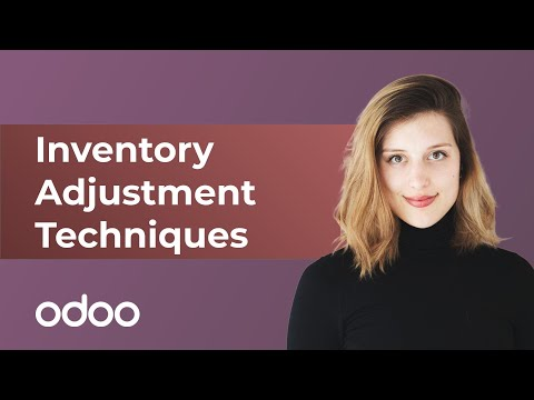 Inventory Adjustment Techniques | odoo Inventory