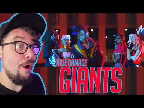 Mikey Reacts to True Damage - GIANTS (ft. Becky G, Keke Palmer, SOYEON, DUCKWRTH, Thutmose) LoL