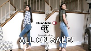TRY ON SUMMER FASHION HAUL 2019 | ABERCROMBIE + BUCKLE | HUGE SALE