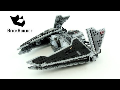 Vidéo LEGO Star Wars 9500 : Sith Fury-class Interceptor