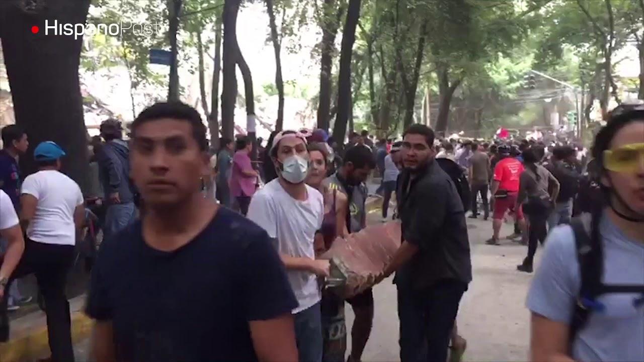 Mexicanos se crecen ante la tragedia para ayudar a sus víctimas