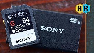 Fastest Memory Card In 2018 - SONY SDXC UHS II