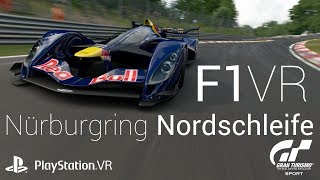 F1 on Playstation VR Red Bull X2014 Nürburgring 4:49.205