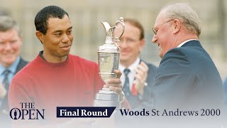 Tiger Woods - Final Round in full | The Open at St Andrews 2000