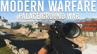 Modern Warfare Palace Groundwar!