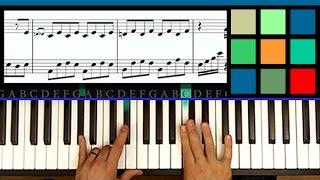 """How To Play """"Hallelujah"""" - Part 1 Piano Tutorial / Sheet Music (Jeff Buckley / Leonard Cohen)"""