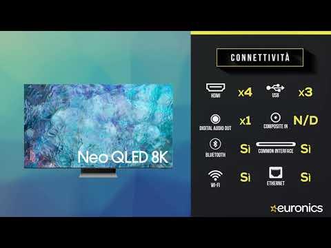 "SAMSUNGTV Neo QLED 8K 75"" QE75QN900A Smart TV Wi-Fi  2021Stainless Steel"