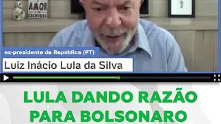 Lula ataca Moro e defende decisão de Bolsonaro: