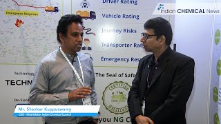 Safe transportation of chemicals to be a key priority: Shanker Kuppuswamy, CEO - NicerGlobe, Indian Chemical Council