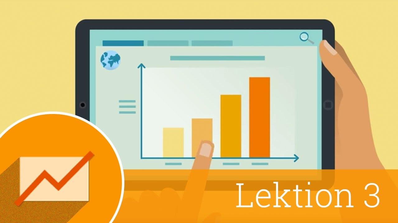 Tracking spezifischer Ziele mit Web-Analytics