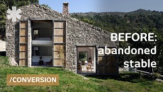 Download Youtube: Abandoned stable becomes off-grid, luxurious family dream home