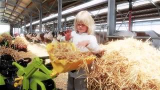 Minamas traktorius - vaikams nuo 3 iki 8 metų | rollyFarmtrac John Deere | Rolly Toys 700028