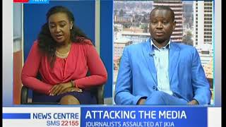 Kenya union of journalists to sue state for assault of journalists at JKIA