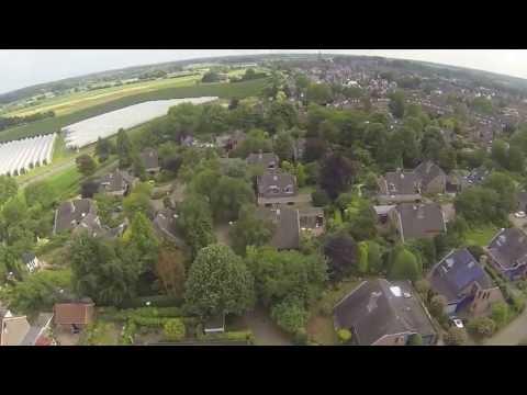 fly over Wijk bij Duurstede