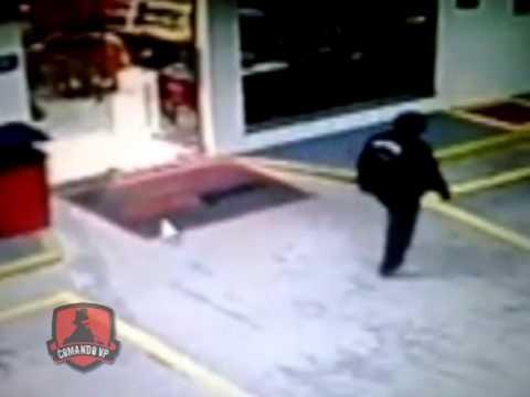 Bandido armado assalta posto de combustíveis