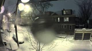 Nemo Snowstorm Time Lapse - Blizzard in Boston on February 8, 2013