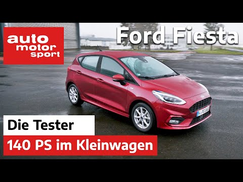 Ford Fiesta 1.0 Ecoboost: 140 PS im Kleinwagen - Test/Review | auto motor und sport