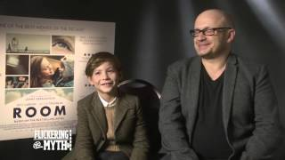 Room director Lenny Abrahamson and actor Jacob Tremblay - Exclusive Interview