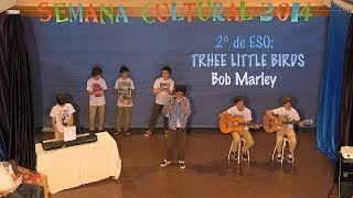 preview picture of video 'Semana Cultural 2014: Three Little Birds (Bob Marley)'