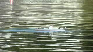 preview picture of video 'Kaliningrad 2013 - mistrovství světa Naviga lodních maket NS: F2-A junior'